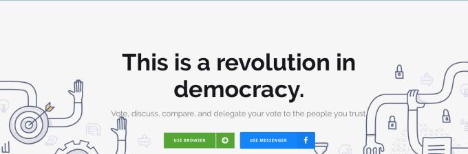 A Revolution in Democracy